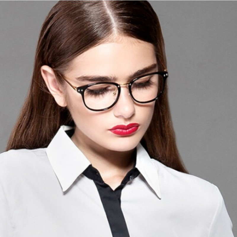 Ladies Eyeglass Frames 2016 : 2016 Fashion Brand Design glasses frames Eyeglasses Frame ...