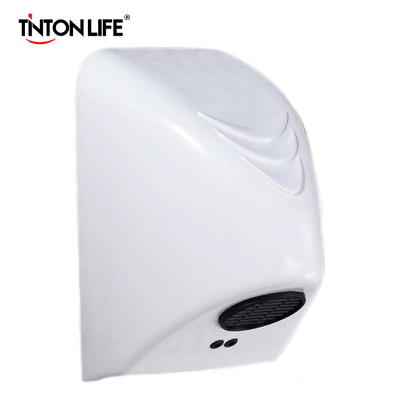 TINTON LIFE Hand Dryer Machine Automatic Sensor Hand-drying Machine Automatic Dry Hand Machine Household(China (Mainland))