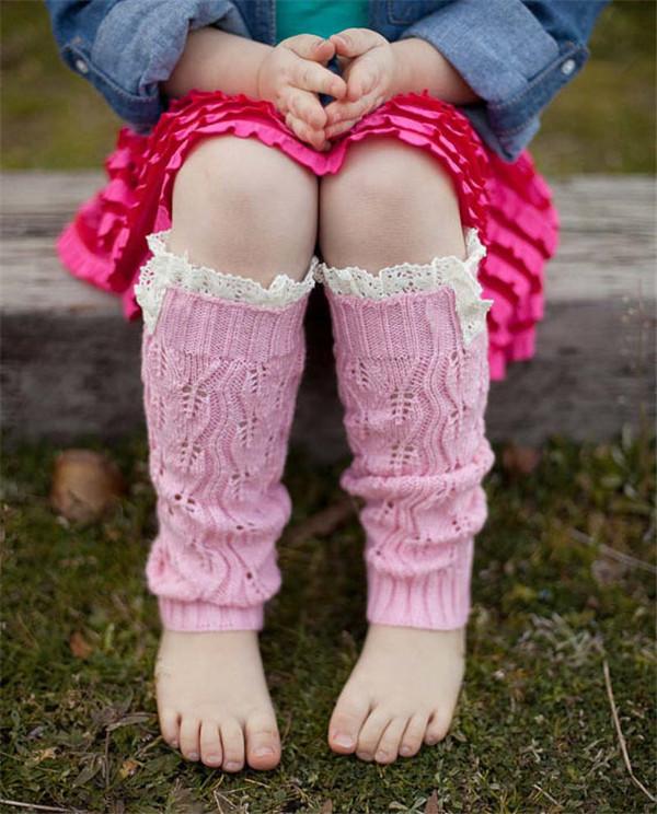 Вязание ребенку ногами