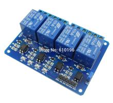 Buy 5PCS/LOT 4 Channel 5V Relay Module Control Board Shield Arduino Indicator Light Optocoupler for $16.99 in AliExpress store