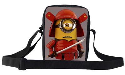 2015 Fashionable Minions Bags Despicable Me Messenger Bag For Kids School Teenagers Shoulder Bag For Girls Boys Kindergarten(China (Mainland))