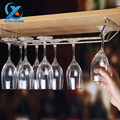 Barware Wine Rack Glass Cup Holder Metal Wine Holder Bar Double Row Stainless Steel Accessories 34