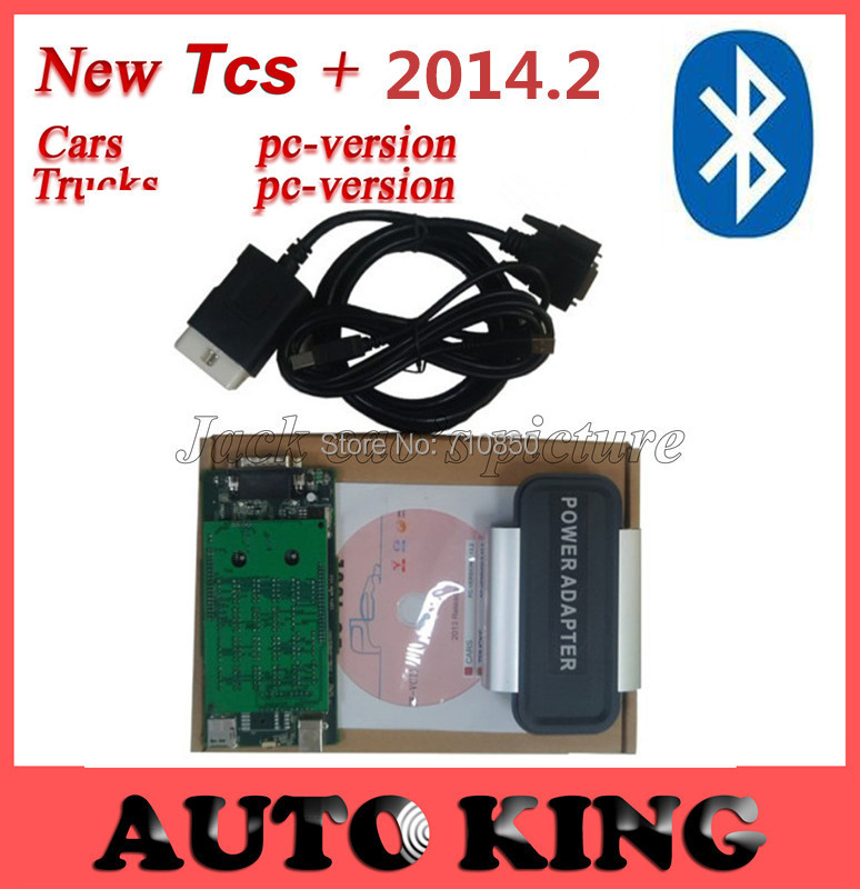 Bluetooth include! a big discount for black Tcs cdp pro on CARs+TRUCKs+Generic 3 in1,with 2014 r2 Software+Keygen! FREE SHIP !(China (Mainland))