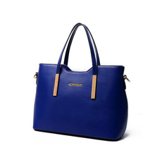 Freeshipping yellow/deep blue/wine red/black/yam purple/rose red/light pink/skyblue/grey/beige handbag shoulder messenger bag(China (Mainland))