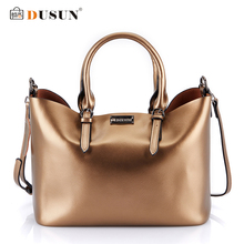 Buy Dusun Handbags Women Messenger Bags Genuine Leather Women Bags Retro Handbags Famous Brand Fashion Casual Ladies Shoulder Bag for $39.99 in AliExpress store