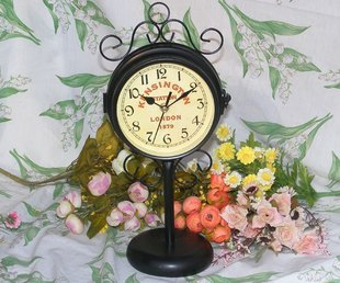 Jardín de estilo europeo cara del reloj reloj de pared ...