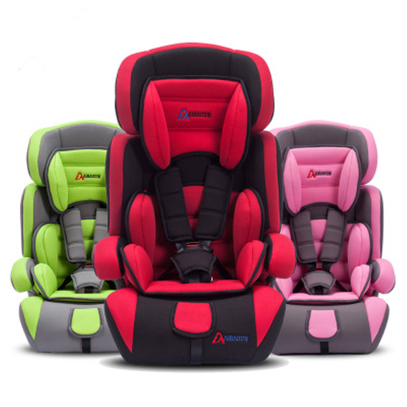 High Quanlity 9-36KG Baby Safety Seat  9M-12Y Portable Car Child Safety Seat  Adjustable Pillow 7 Colors<br><br>Aliexpress