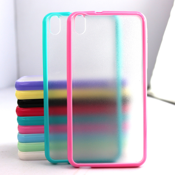 For HTC Desire 816 Mobile Phone Accessories 3D Colorful Candy Transparent Back Case Cover Cheap Case for HTC Desire(China (Mainland))
