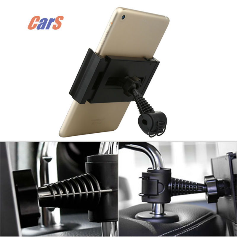 360 degree Car Back Seat Headrest Mount Holder for Phone Tablet PC iPad tablet holder vehicle headrest car seat tablet holder(China (Mainland))