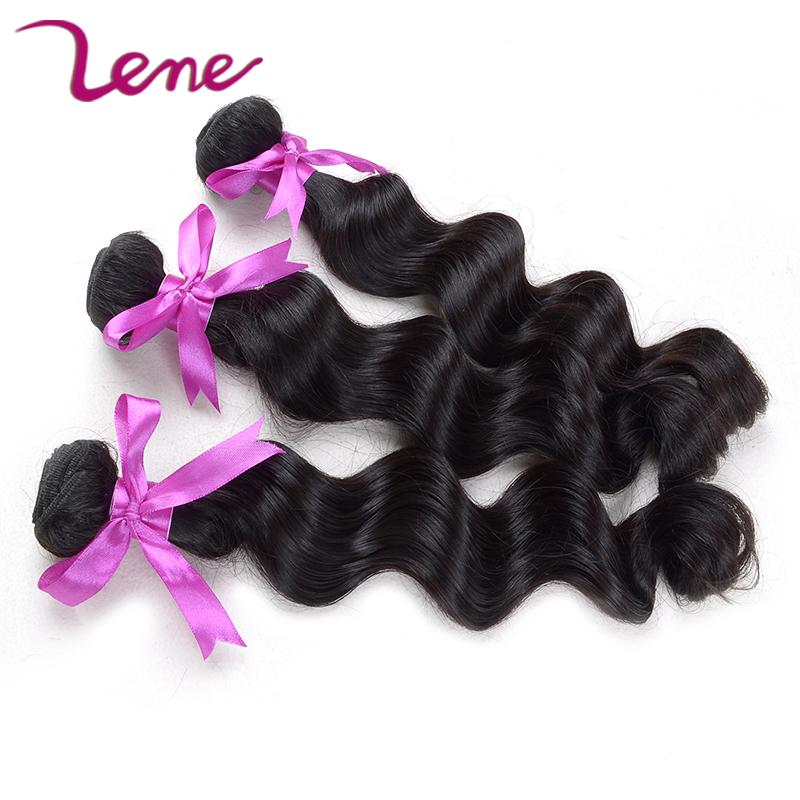 Lene Top Grade peruvian loose wave cheap human weave wet and wavy human hair extensions peruvian loose wave virgin hair(China (Mainland))