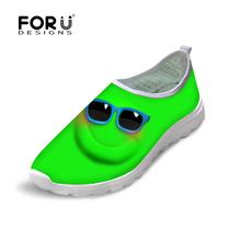 Comfortable Emoji Smiley Face Mesh Shoes Casual  Super Light Male Breathable Fitness Shoes Fashion Zapatillas Deportivas Hombre