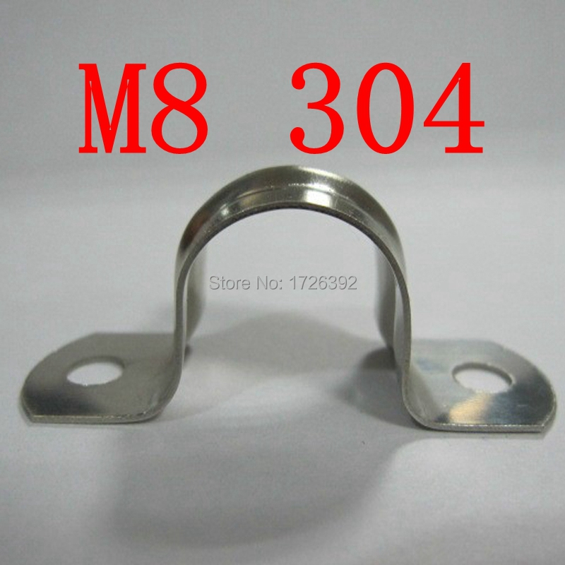 Гаджет  M8 8mm Authentic SS 304 TUBE SADDLE CLIP  None Аппаратные средства