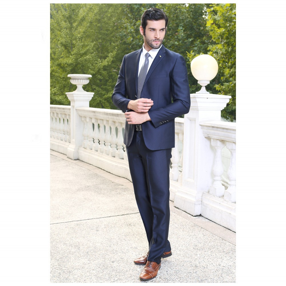 Male Suits Notched Lapel One Button Tie Groomsman Tuxedos Men Wedding Suits Handsome High Quality Free Shipping