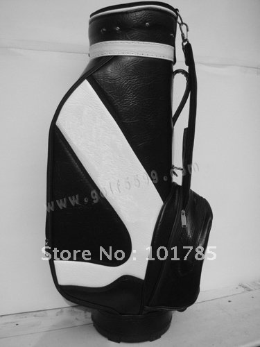 comfortable carry golf travel bag with top quality+without shipping+sponge leather golf bag+in stock for quick delivery(China (Mainland))