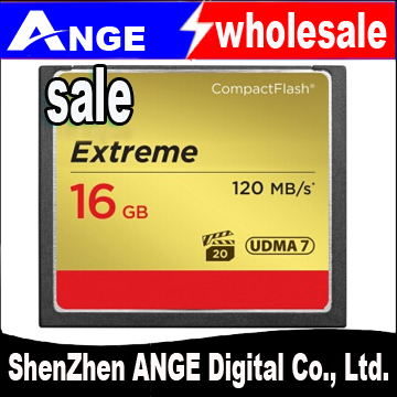 wholesale 2015TOP high speed 800X 120M/S CF Card 16GB 32GB 64GB Compact Flash UDMA(China (Mainland))