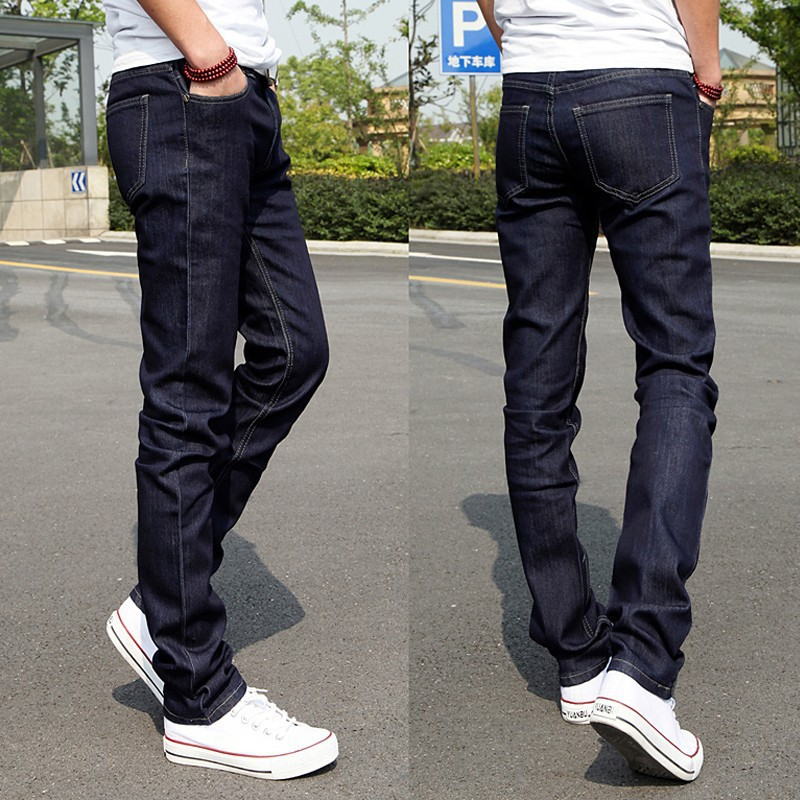 Discount Wholesale Top Sale Fashion Korean Skinny Jeans For Men ...