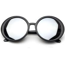 63mm Oversized Big Frame Round Sunglasses Women Original Brand Male Female Black Frame Sun Glasses Women's Glasses Goggles