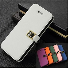 1PC New Flip Hard Case For iPhone 5 5S Cover i Phone 5 Magnetic PU Leather Phone Bags Case Wallet For iPhone5s for iPhone5(China (Mainland))