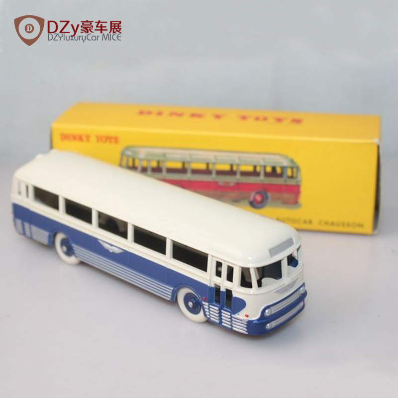 Free shipping 1:43 Diecast Toy cars metal toy bus Atlas dinky toys 29F/29 F Autocar Chausson bus toy(China (Mainland))