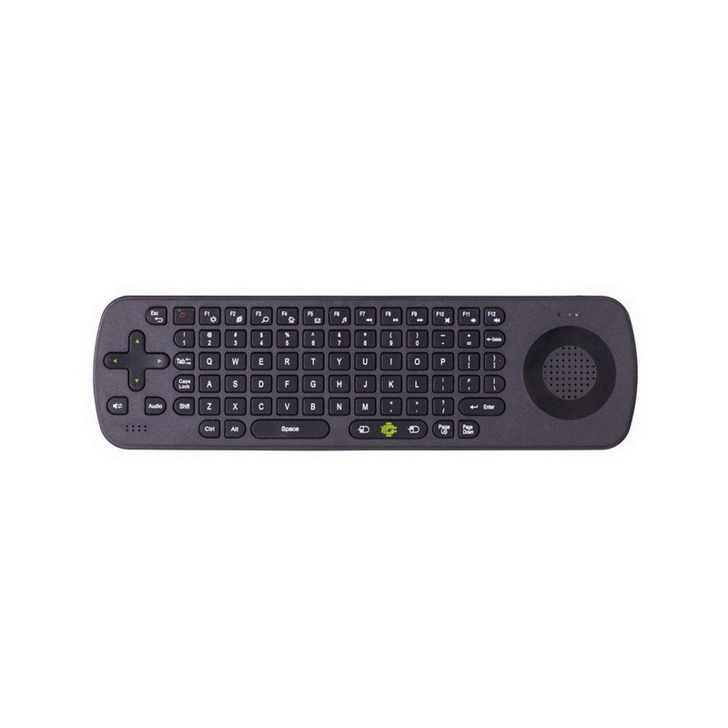 2015 Wireless 2.4G Bidirectional Voice Keyboard and Remote Control RC13 Multimedia Speaker and Skype Phone(China (Mainland))