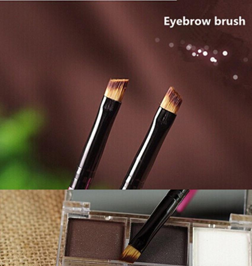 Angled Eyeliner Brush Eyebrow brushes eye liner styling tool tattoo liquid make up eyeliner(China (Mainland))