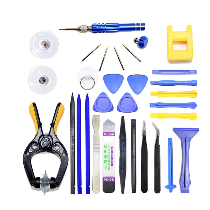Professional Mobile Phone Repair Tools Kit Spudger Pry Opening LCD Screen Tool Screwdriver Set Pliers Suction Cup For iPhone 5 6(China (Mainland))