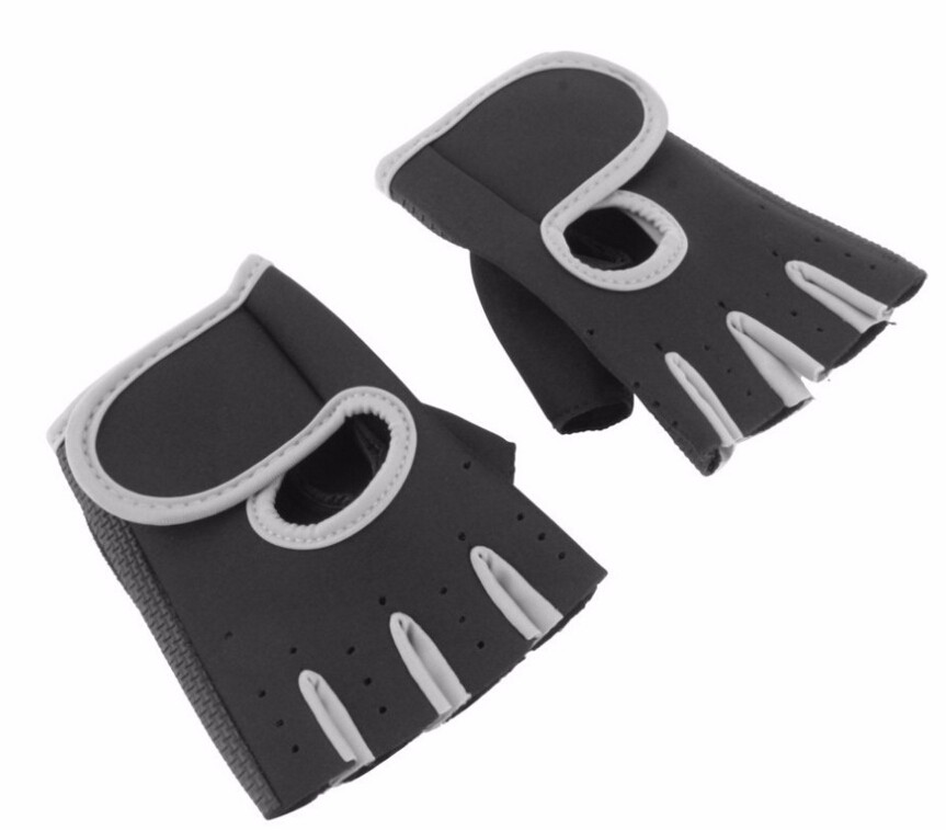 IMC Men & Women Sports Gym Glove Fitness Training Exercise Body Building Workout Weight Lifting Gloves Half Finger