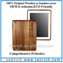 LPC5801 Detachable Walnut Wooden Covers for Ipad,For ipad Cover Wood,For ipad Wood Cover DHL Free shipping(China (Mainland))