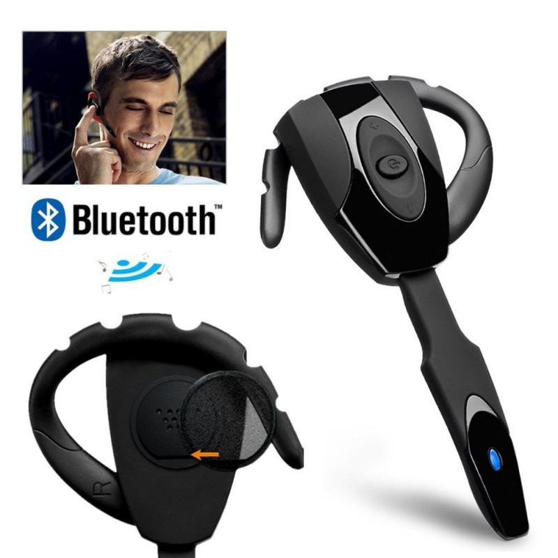 KKMOON EX-01 In-ear Wireless Stereo Bluetooth Gaming Headset Headphones Earphone Handsfree with Mic for PS3 Smartphone Tablet PC