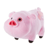 1pcs  Gravity Falls  Pink Pig Waddles Plush Toy 16CM(China (Mainland))