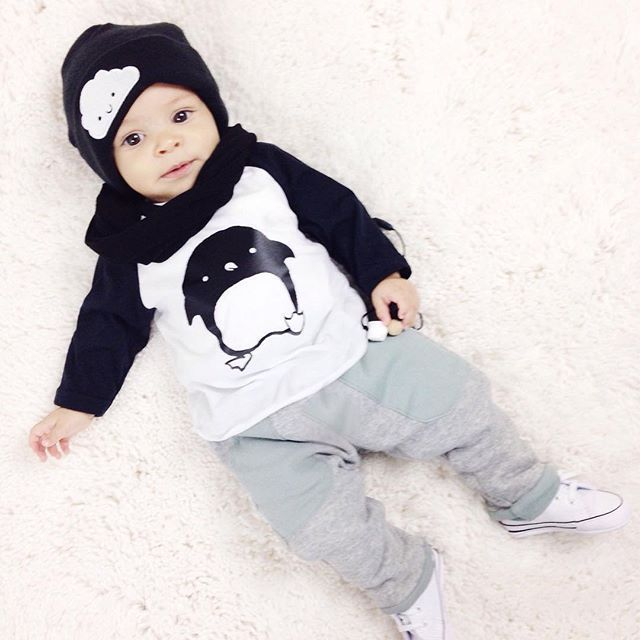 2016 new baby girl dress casual fashion printed long-sleeved pants + baby 2 set casual clothing newborn baby boy(China (Mainland))
