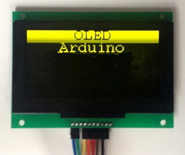 2.7 inch Yellow OLED Module SSD1325 Drive IC 128*64(China (Mainland))