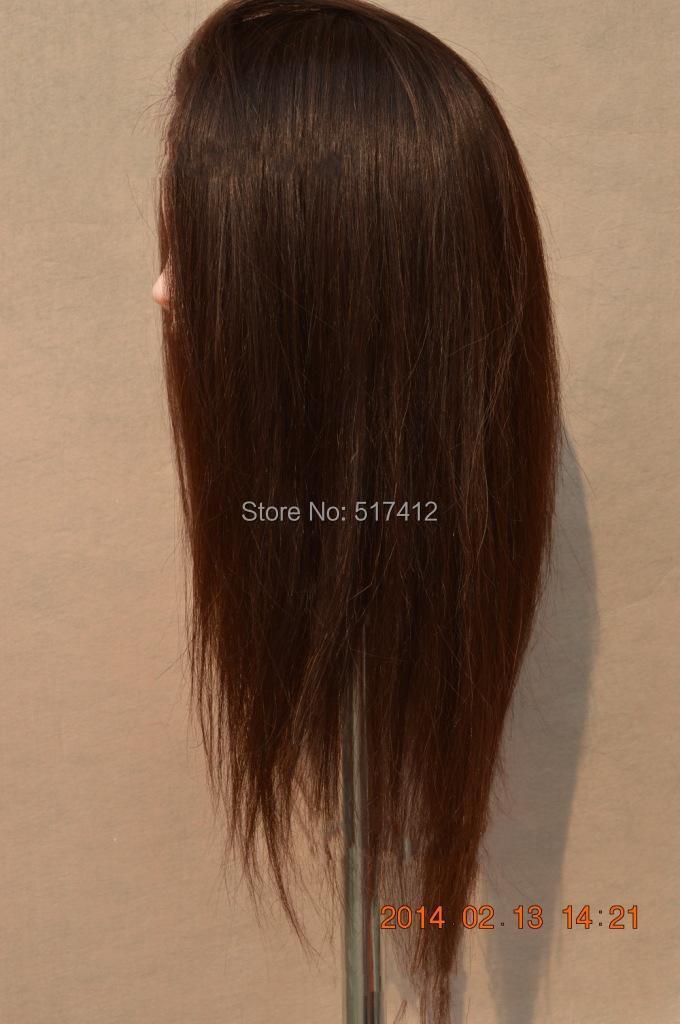 Mannequin Sale Dummy Maniqui mannequin head hairstyles 80% Real Hair ...