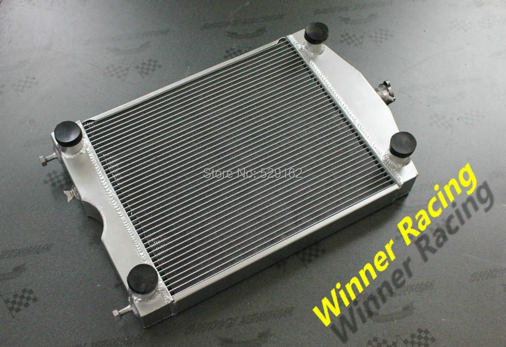Высокая производительность 56 мм алюминиевый радиатор для форд 2N / 8N / 9N трактор w / плоскую отвертку двигатель V8
