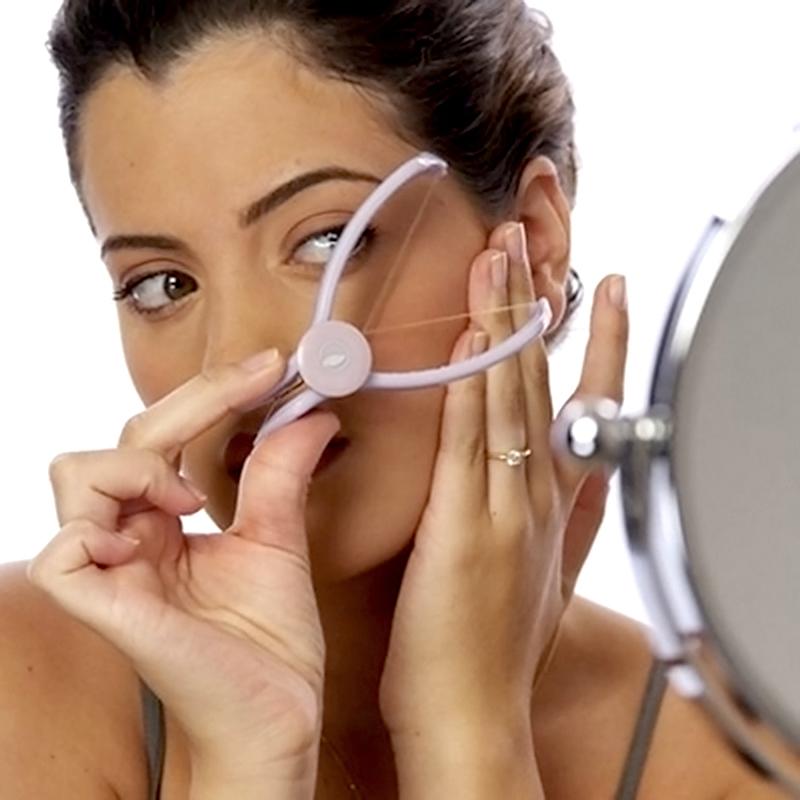 Newest Epilator Spa Facial face leg Original Body Hair Epilator Threader System Hair Removal Makeup Beauty Tools#LY036(China (Mainland))
