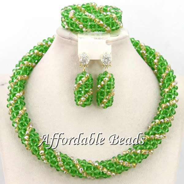 Wholesale African Beads Wedding Jewelry Set Unique Bridal Jewelry Set Popular Style Free Shipping BN501(China (Mainland))