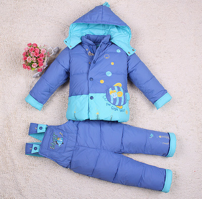 Children winter clothing set Russia -30 degree baby Girl suit sets Boy Outdoor sport Kids warm down coats Jackets+trousers 003<br><br>Aliexpress