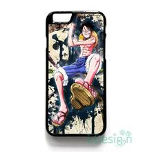 Fit for iPhone 4 4s 5 5s 5c se 6 6s 7 plus ipod touch 4/5/6 back skins cellphone case cover ONE PIECE LUFFY