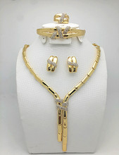 Jewelry Set Gold Plated