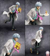 gin pa sen sei/Sakata Gintoki Free Shipping GINTAMA Anime Action Figure Kid Toys 22cm High Quality Juguetes Figurine Brinquedos