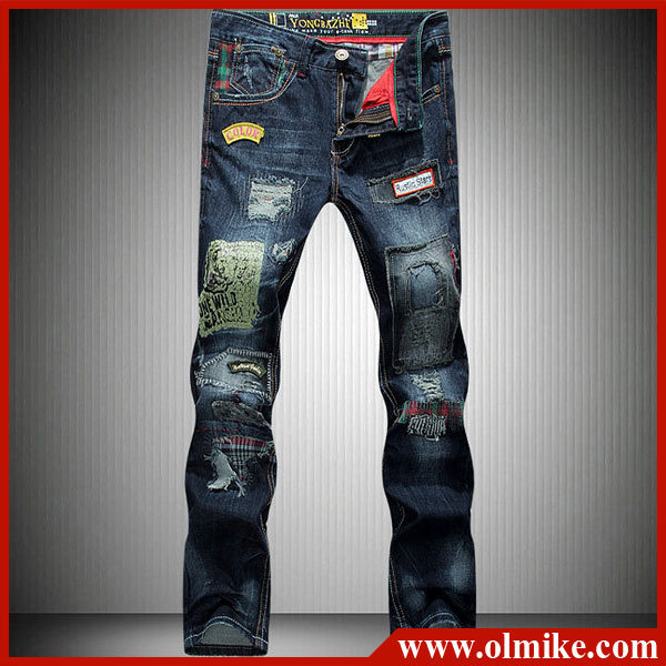 2014 free shipping newly style straight cotton men jeans trousers, brand jeans men,hot jeans men,men brand jeans,size29-36 D059