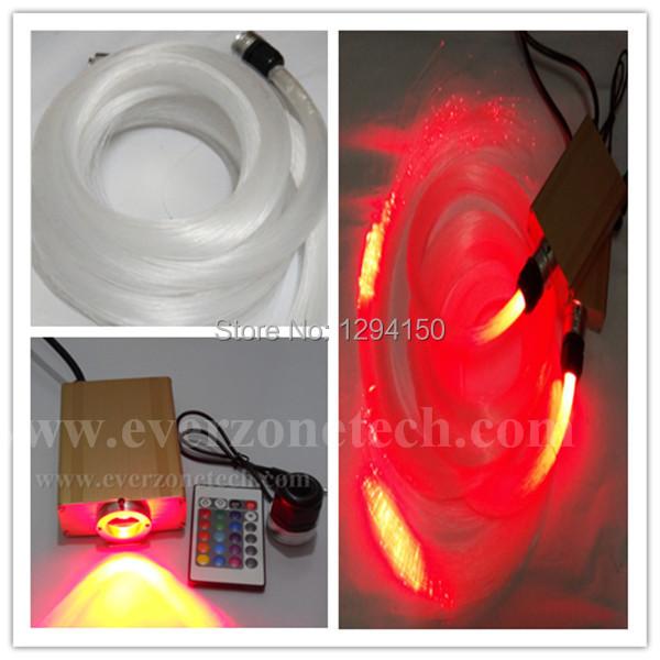 Фотография FY-2-002   80pcs  0.75mm *2m + 80pcs 1.0mm*2m Moden fashion fiber optic star ceiling kit