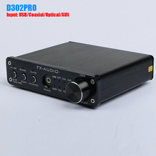 Buy FX-Audio D302PRO STA369BW PCM1808 AK4113VF Digital Audio Amplifier Input USB/Coaxial/Optical/AUX 20W*20W Support 24Bit/192KHz for $72.99 in AliExpress store