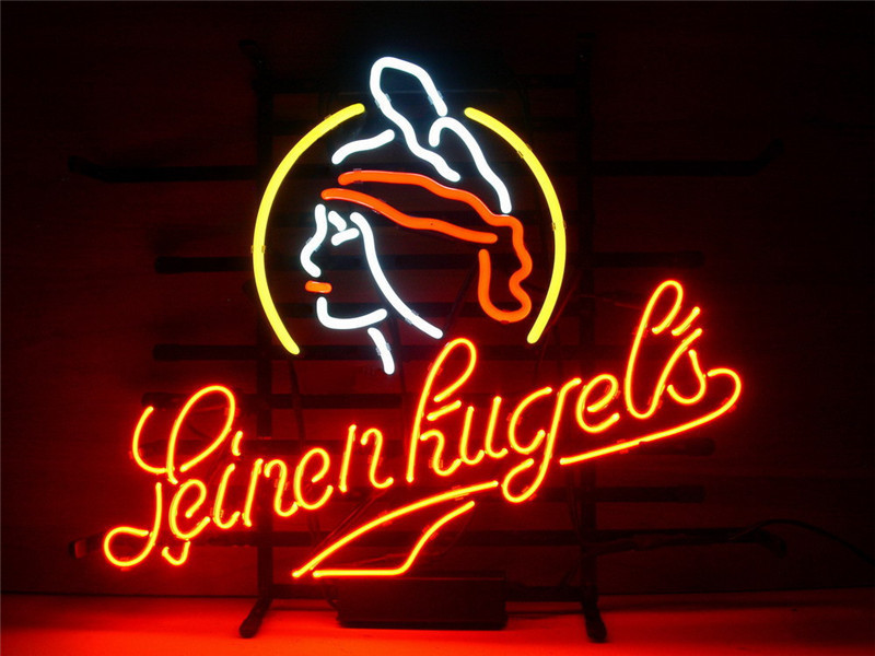 neon sign pour new leinenkugels enseigne r el verre bi re. Black Bedroom Furniture Sets. Home Design Ideas