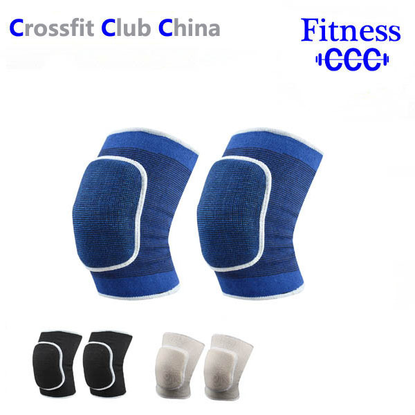 1 pair Knee Pad Knee let Cycling Sponge Thicken Kneecap Sport Protection Knit(China (Mainland))