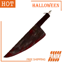 Blood Knife decoration items mall theater sets bar room haunted Horror Halloween props tricky personality Halloween Knife(China (Mainland))