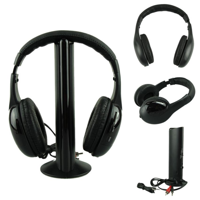 beautiful gift new fashion 5in1 wireless headphone casque audio sans fil ecouteur hi fi radio fm. Black Bedroom Furniture Sets. Home Design Ideas