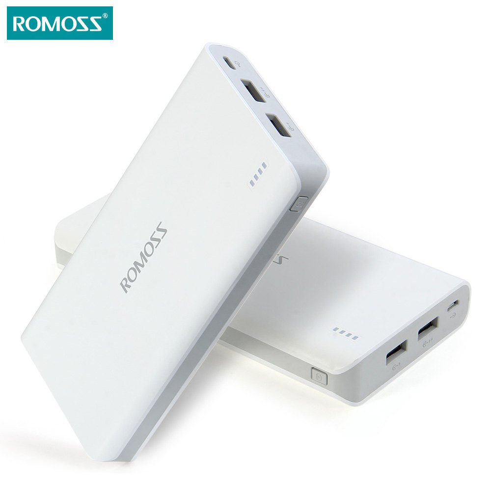 20000mAh New ROMOSS Portable Charger External Battery Pack