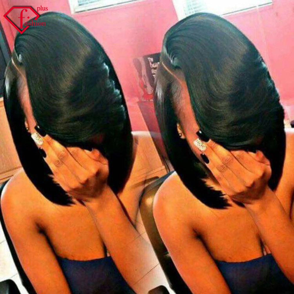 Unprocessed virgin Malaysia human hair bundeles short straight wave for black women bob wigs Cheap Malaysia Hair 3Bundles Huma(China (Mainland))