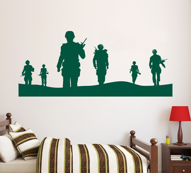 Military wall murals reviews online shopping military for Army wallpaper mural